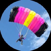 Буксировка на парашюте